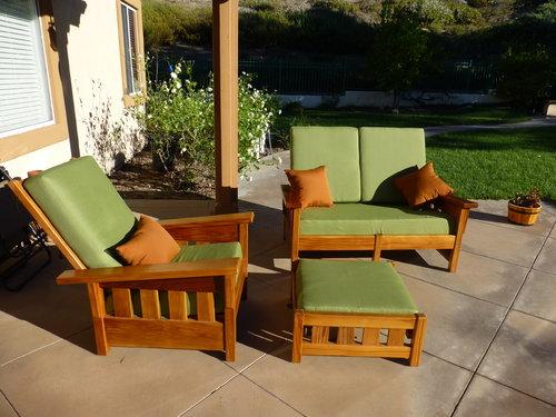 CS customer deep seating cushions
