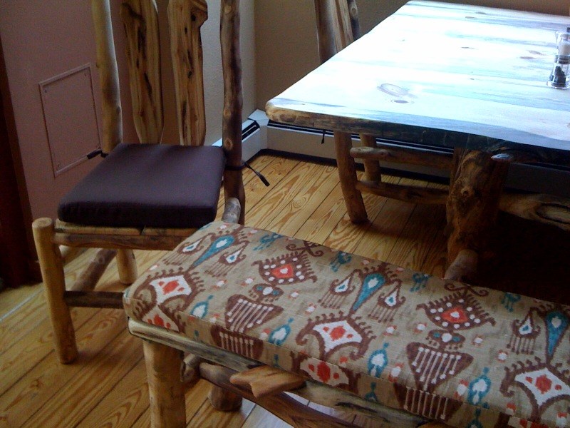 Kitchen cushions complete custom dining set | Cushion Source Blog