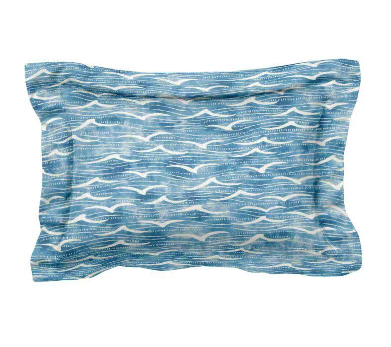 Custom Lumbar Flange Pillow