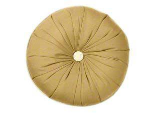 Designer round sunburst pillow