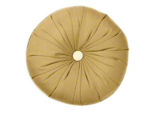 Designer round sunburst pillow