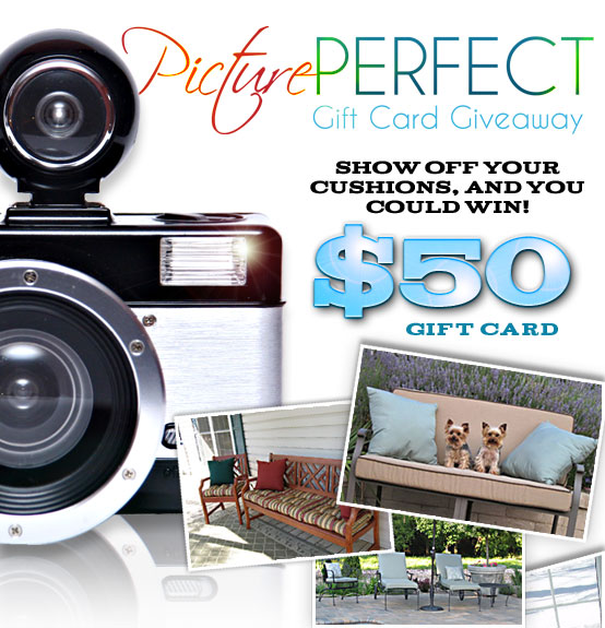 Upload your photo & you could win a gift card