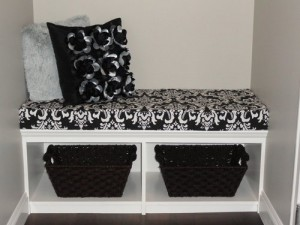 If your friend likes trendy fabrics or has a dedicated color scheme, you can choose one of Cushion Source's many new patterns to add a bit more pizzazz to the room. Black and white contrasts are tried-and-true and fit in with many modern designs.