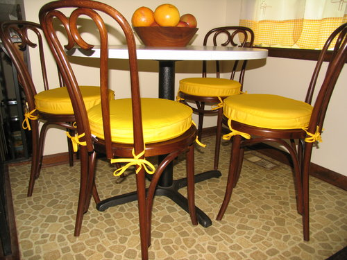 Kitchen Cushions Custom Banquette Chair Add