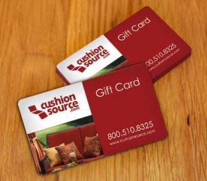 Always the right size and fabric, Cushion Source gift cards are a great fallback plan if you're still unsure about measuring, or if your friend lives out of town.