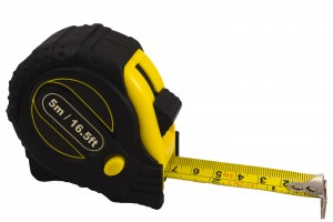 You must have a tape measure close at hand to measure for your friend's custom gifts
