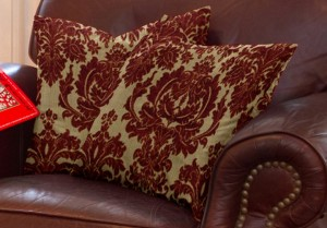 Christmas decorating: Cushion Source pillow covers