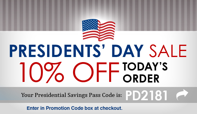Your Presidential Savings Pass is here!