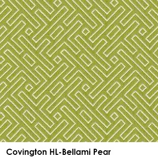Covington HL-Bellami Pear green fabric