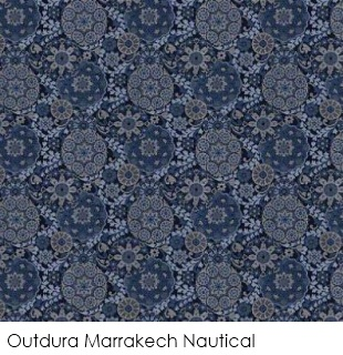 Neutral fabrics: Outdura Marrakech Nautical