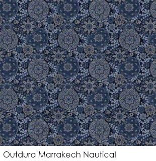 Neutral fabrics: Outdura Marrakech Nautical