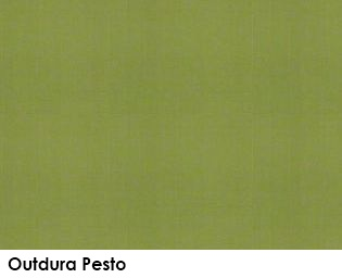 Outdura Pesto green fabric