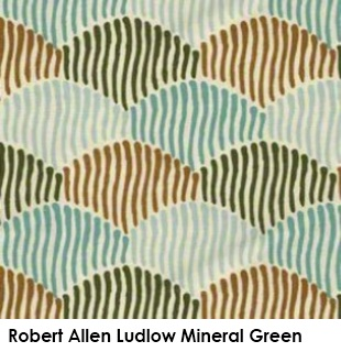 Robert Allen Ludlow Mineral Green fabric