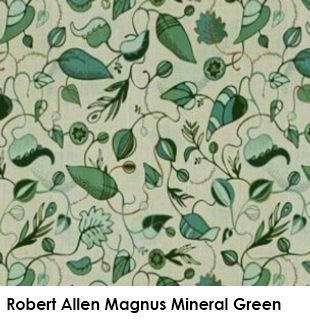 Robert Allen Magnus Mineral Green fabric