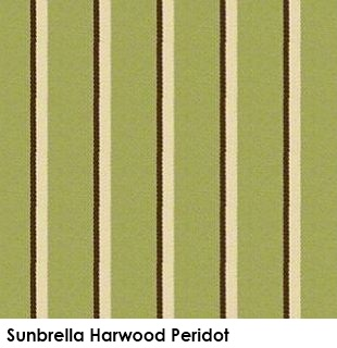 Sunbrella Harwood Peridot green fabric