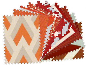 Red and Orange Samples