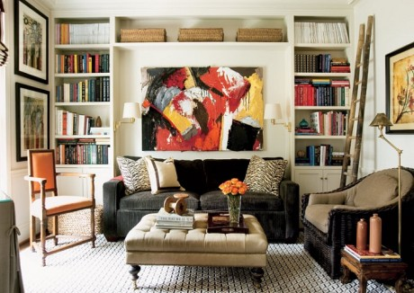 Courtney-Giles-Interiors-via-Atlanta-Home-mag-zebra-pillows-living-room