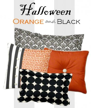 Halloween Orange and Black