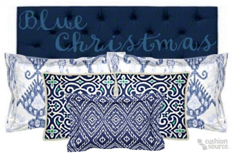 A blue Christmas should never be depressing! Use a variety of blues to create an icy, yet exceptionally warm environment.