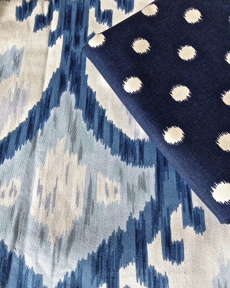 Using Navy Fabric as a Neutral