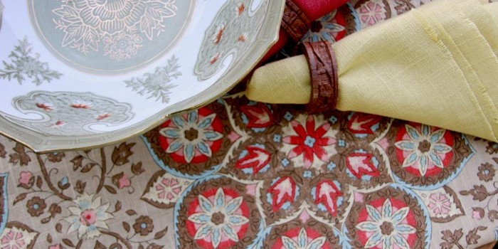 Highland Taylor Pacific and Laurel Dove Fabrics