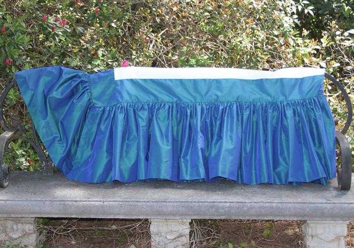 Custom Bedding Skirt