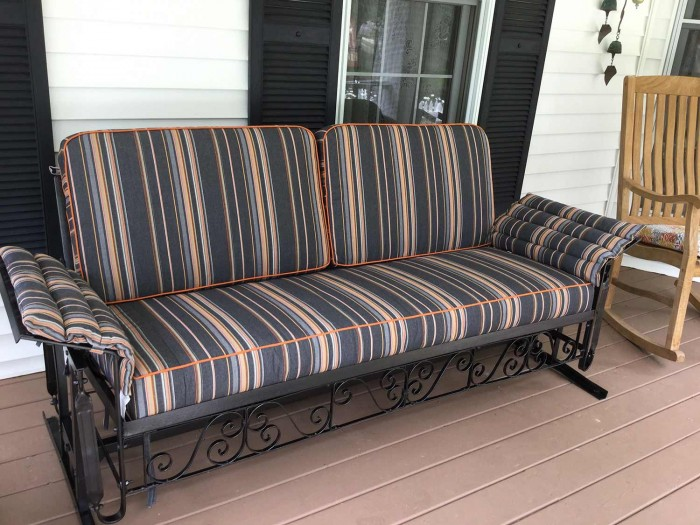 Vintage Glider Cushions