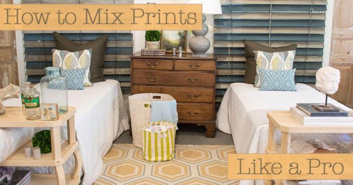 How to Mix Prints Like a Pro