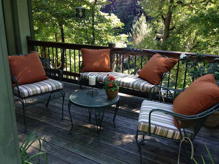 Sunbrella Bench and Seat Cushions