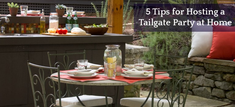 5 Tips for Hosting a Tailgate Party at Home