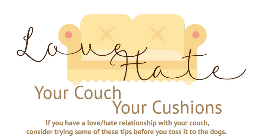 Love Your Couch, Hate Your Cushions? Here's What You Need to Know.