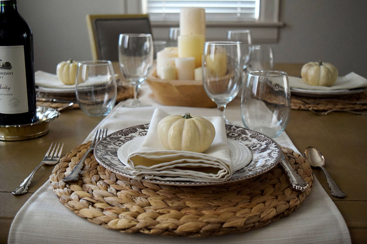 5 Ways To Style A Thanksgiving Table Cushion Source Blog