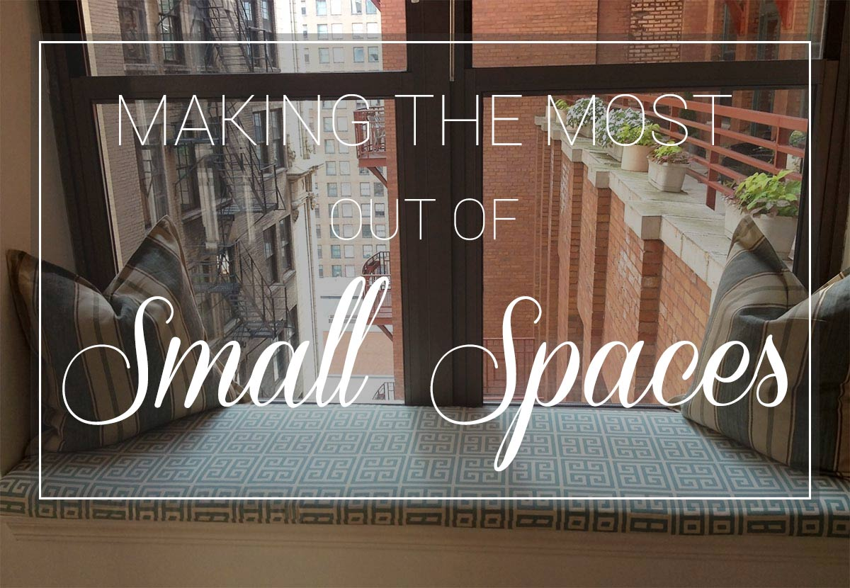 Making The Most Out Of Small Spaces Cushion Source Blog