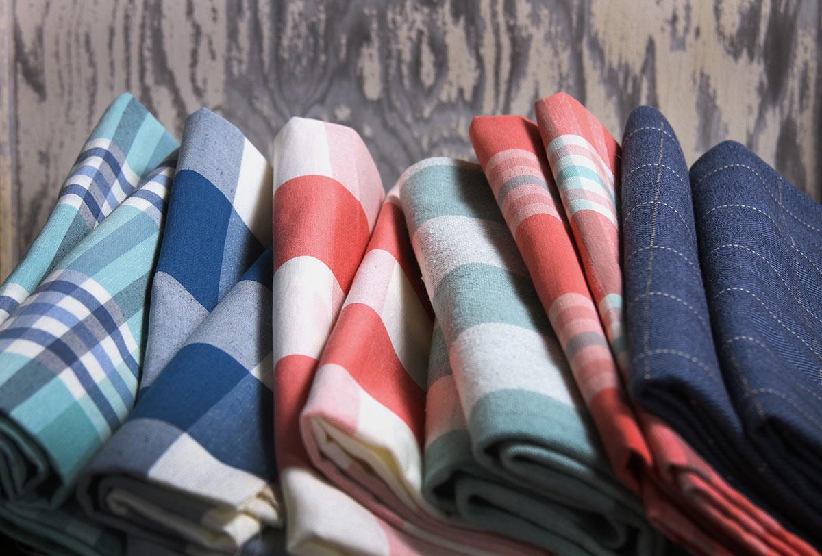 New Colorful Robert Allen Plaid Fabrics