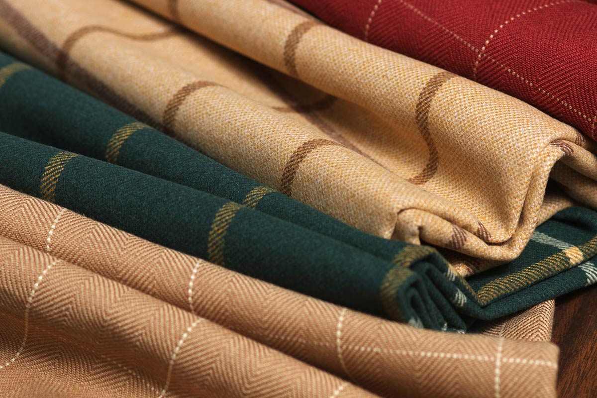 New Traditional Robert Allen Plaid Fabrics