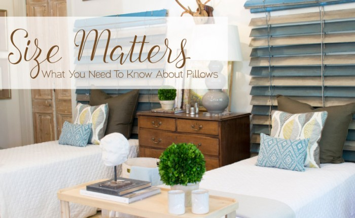 Size Matters: What You Need to Know About Pillows