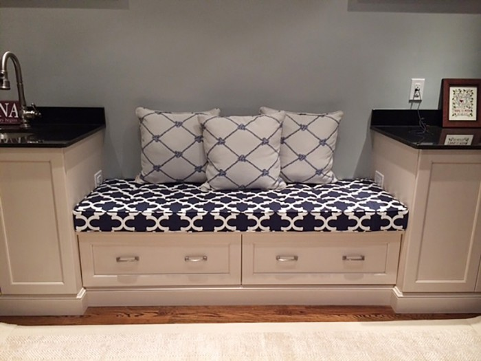 Custom Bench Cushions