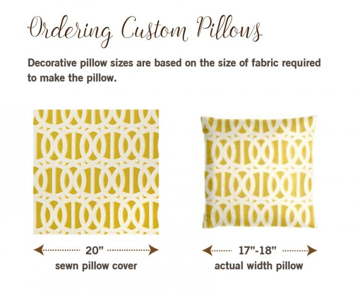 How To Order Custom Pillows