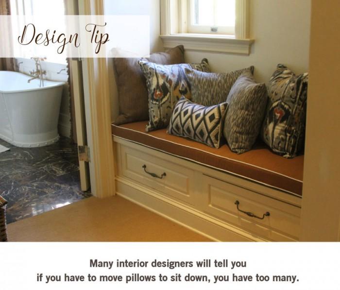 Designer Pillow Tip