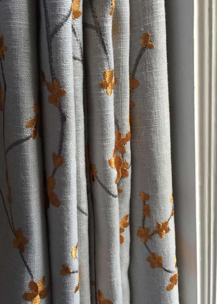 Highland Taylor Asia Golden Fabric