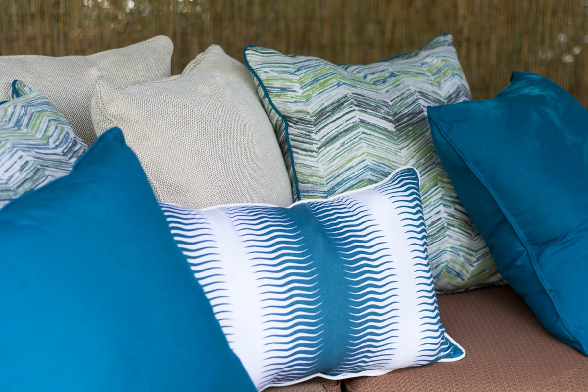 Mixed Patterns Throw Pillows