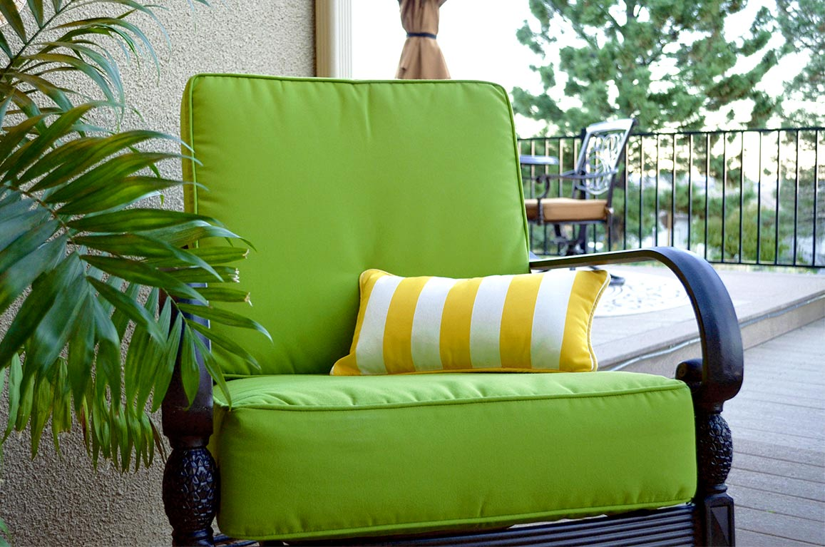 Sunbrella Macaw Deep Seating Chair Cushions