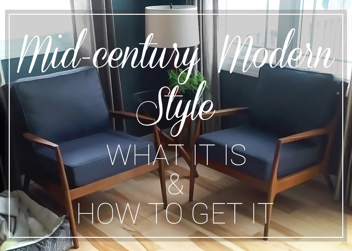Picture of: Mid Century Modern Style What It Is And How To Get It Cushion Source Blog