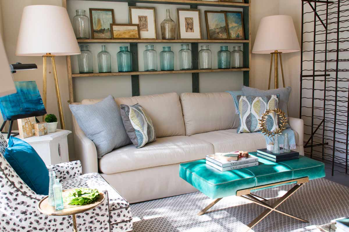 Spring Sofa Decor
