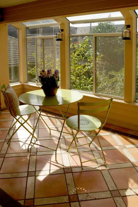 Terracotta Sunroom