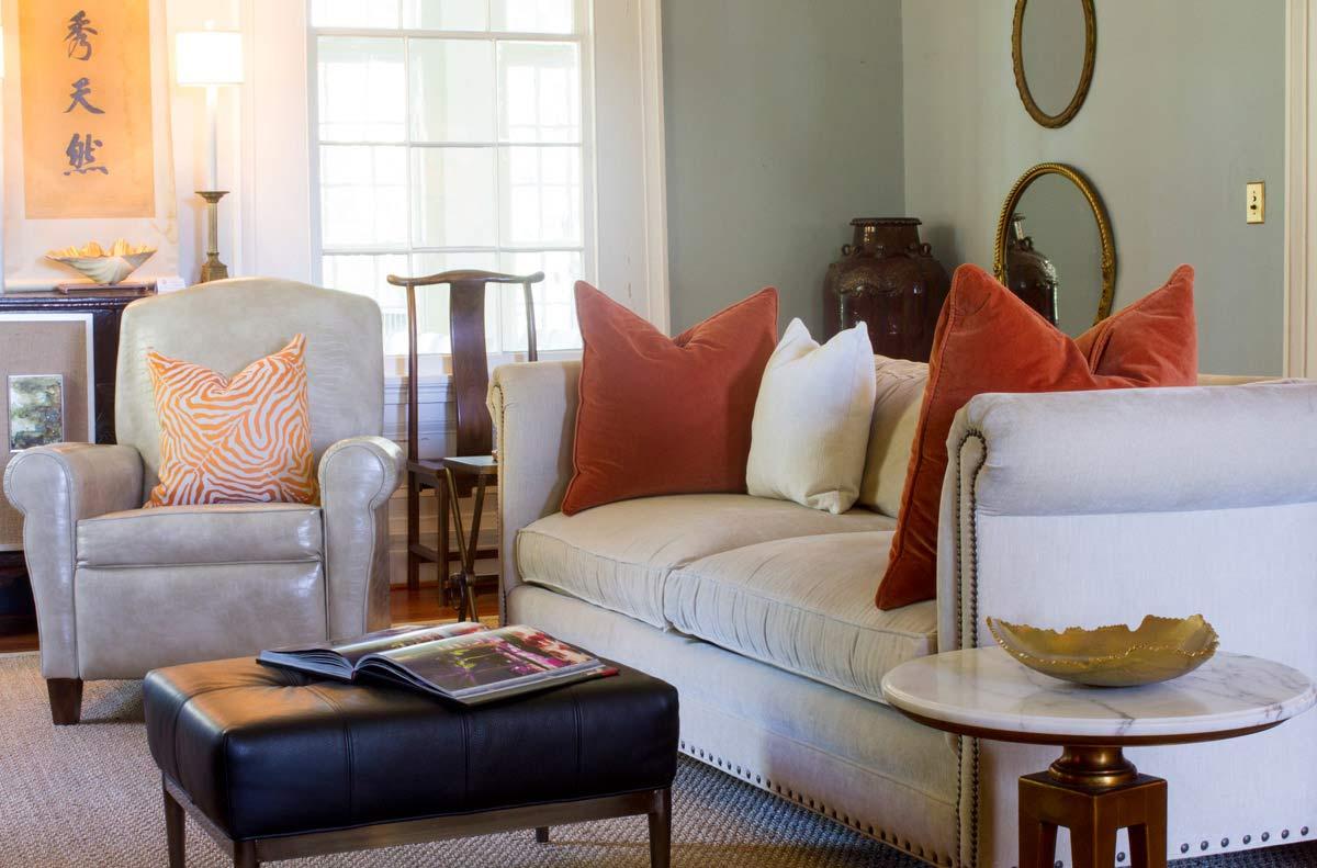 Orange Throw Pillows
