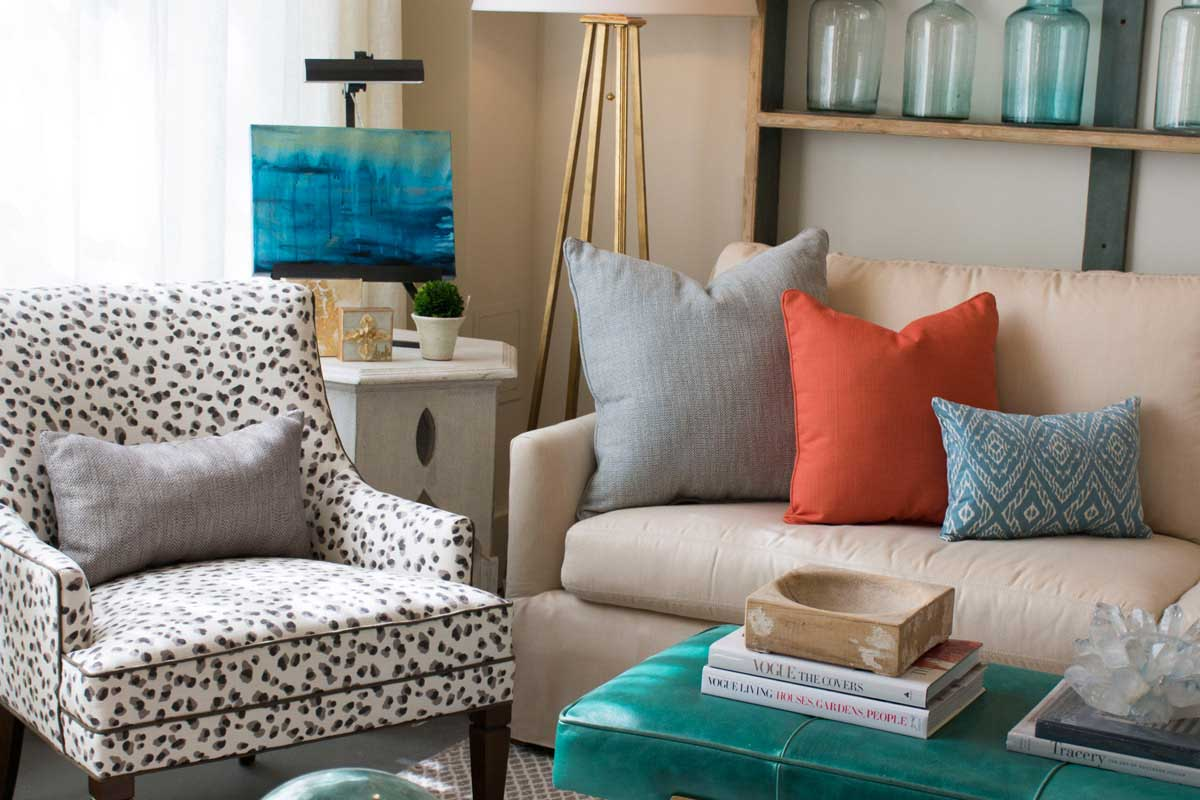 Pillows with Mixed Patterns