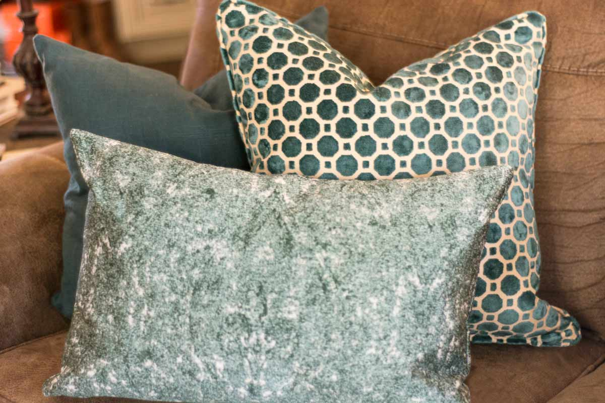 Textured Pillows