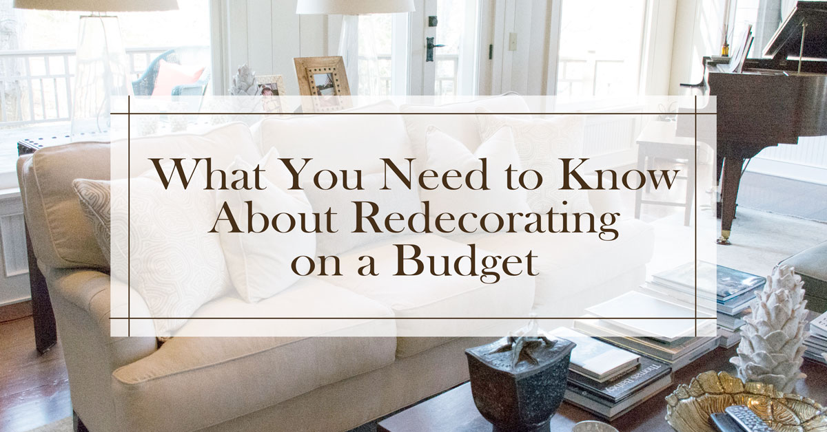 What you need to know about redecorating on a budget cushion source blog - Good reasons need redecorate ...
