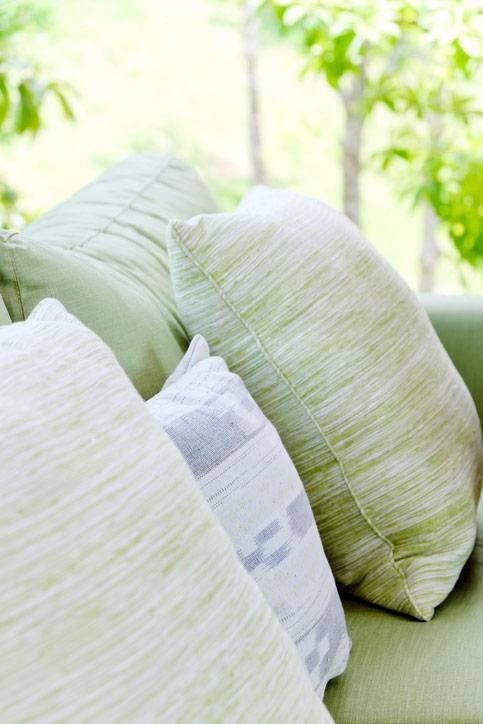 Celadon Green Pillows